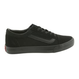 Nero AlaVans Atletico 18081 scarpe da ginnastica nere