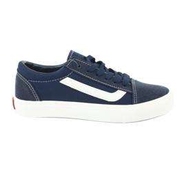 AlaVans Atletico 18081 scarpe da ginnastica blu scuro