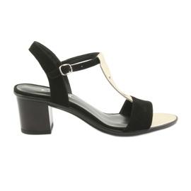 Sandali da donna Anabelle 1447 nero / oro