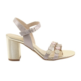 Scarpe da donna argento rosa gamis 3658
