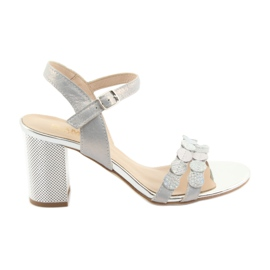 Sandali argentati da donna Gamis 3658