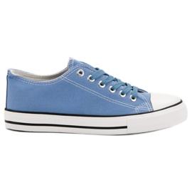 J. Star Scarpe da ginnastica classiche blu