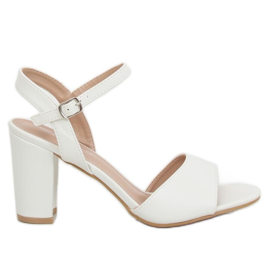 sports shoes f0532 47e2b Tacchi alti bianchi FZ583 bianco