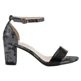 Goodin grigio Eleganti sandali con i tacchi alti