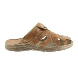 Naszbut marrone Pantofole da uomo 051 beige