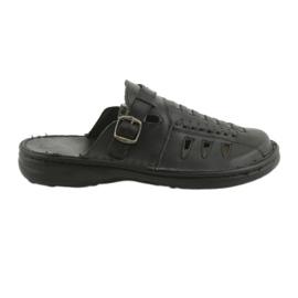 Naszbut nero Pantofole da uomo 047 nere