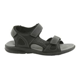 American Club American HL06 sandali sportivi neri nero