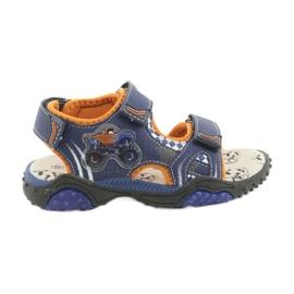 Monster Truck Sandals American Club HL18 blu marino