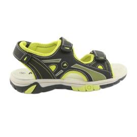 Sandalo da ragazzo American Club RL22 nero
