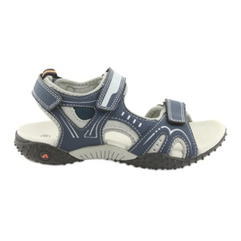 Sandali da ragazzo American Club RL18 blu marino