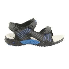 Sandalo da ragazzo American Club HL15 nero