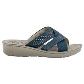 Evento Comode pantofole blu