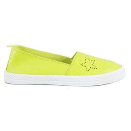 Kylie verde Sneakers senza lacci