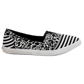 Sweet Shoes Slipons With Pattern
