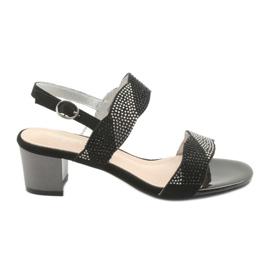 Sandali sul palo di Sergio Leone SK795 nero