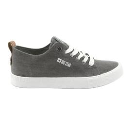 Sneakers da uomo grigie Big Star 174165 grigio
