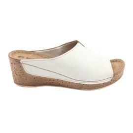 Marrone Pantofole da donna Inblu NLG002 beige