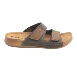Scarpe da uomo Inblu TH015 marrone