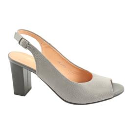 Grigio Espinto S274 sandali outdoor da donna grigi
