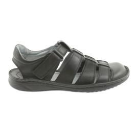 Sandali sportivi da uomo Riko 619 nero