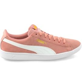 Scarpe Puma Vikky Peach Beige-Puma Bianco W 362624 25 rosa