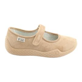 Marrone Befado scarpe da donna pu - giovane 197D004