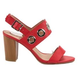Kylie rosso Tacchi alti rossi