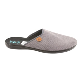 Grigio Pantofole Pantofole da uomo Adanex grigie