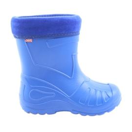 Blu Scarpe per bambini Befado galoskie-chabrowy 162P106