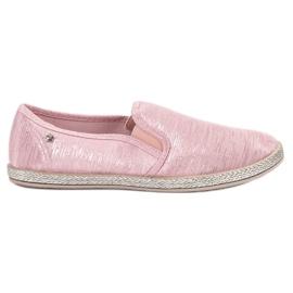 Balada Scarpe da ginnastica lucide Slip On rosa