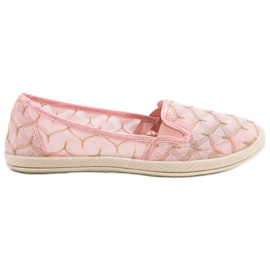 Sneakers rosa Slip On VICES