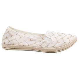 Bianco Sneakers bianche Slip On VICES