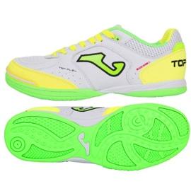 Scarpe da interni Joma Top Flex 920 in TOPW.920.IN bianco, verde, giallo bianco