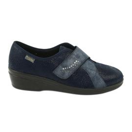 Befado scarpe da donna pu 032D001 blu