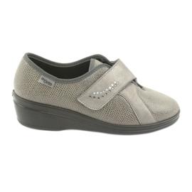 Befado scarpe da donna pu 032D003 grigio