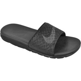 Nero Pantofole Nike Sportswear Solarsoft Benassi M 705474-091