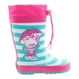 American Club Stivali da pioggia per bambini americani Kitten