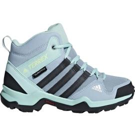 Blu Scarpe Adidas Terrex AX2R Mid Cp Jr BC0672