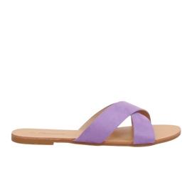 Pantofole da donna viola 930 Viola porpora