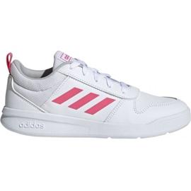 Bianco Scarpe Adidas Tensaur K Jr. EF1088