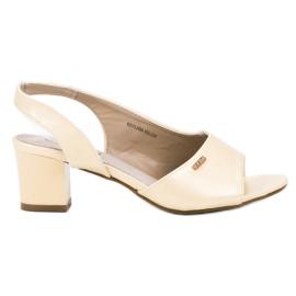 Goodin Eleganti sandali infradito giallo