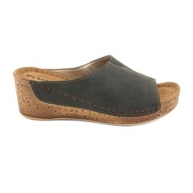 Pantofole da donna Inblu NG002 nero marrone