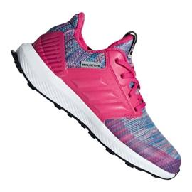 Rosa Scarpe Adidas RapidaRun Btw Jr AH2603