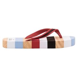 Ax Boxing Flip-flop sulla piattaforma multicolore