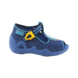 Marina Pantofole da bambino Befado 217P103 blu navy