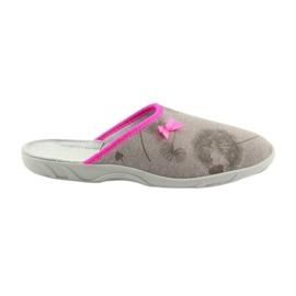 Pantofole Befado 235d162 pantofole grigio