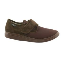 Pantofole Befado 131M005 per diabetici marrone
