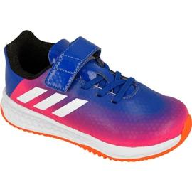 Blu Scarpe Adidas Rapida Turf Messi per bambini BB0235