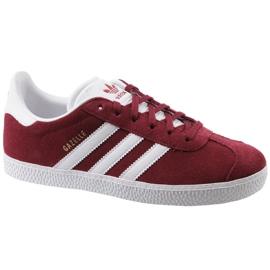 Scarpe rosse Adidas Gazelle Jr CQ2874