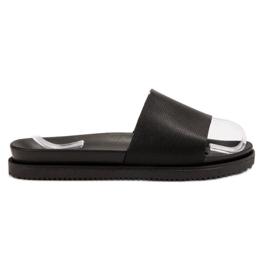 Clowse nero Pantofole da donna nera